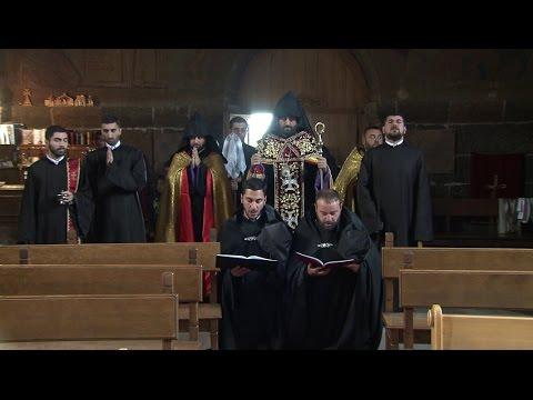 Վարդապետական գավազանի տվչություն Օշականի Ս. Մեսրոպ Մաշտոց եկեղեցում