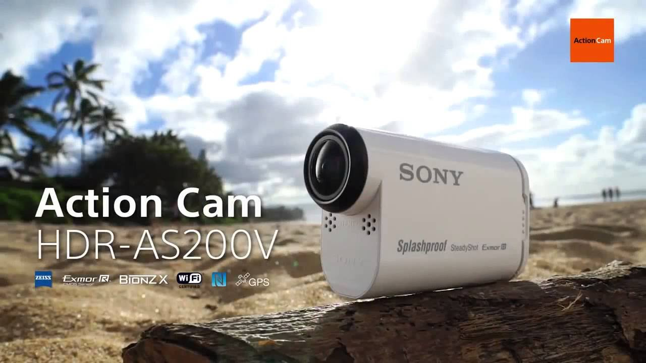 Sony HDR-AS200V Action Camera Driver for Windows Mac