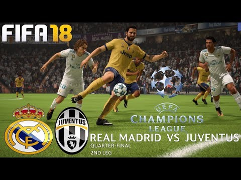 FIFA 18 (PC) Real Madrid v Juventus | UEFA CHAMPIONS LEAGUE QUARTER-FINAL | 11/4/2018 | 1080P 60FPS