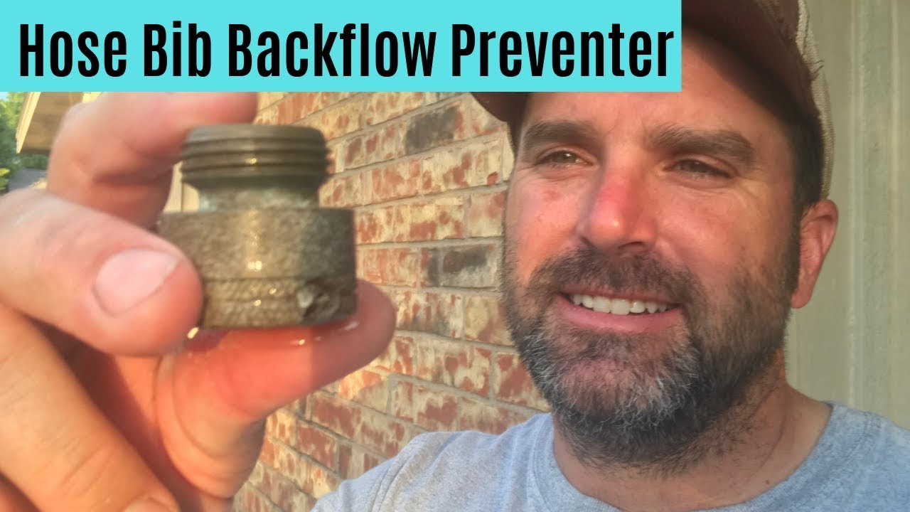hose bib backflow preventer