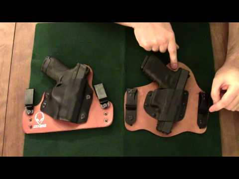 Crossbreed vs Alien Gear Holster