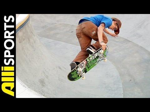 How To Body Jar, Ben Raybourn, Alli Sports Step  Step Skateboard Trick Tip