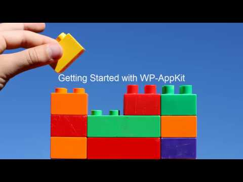 WP-AppKit - Getting Started