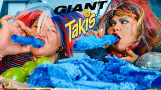 DIY GIANT TAKIS BLUE