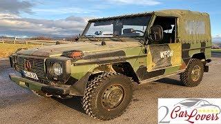 Mercedes G 240D Militär - Fahrbericht II