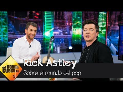 """Rick Astley: """"Las locuras que rodean a una estrella del pop nunca me gustaron"""" - El Hormiguero 3.0"""