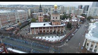 Крестный ход в Саратове в день празднования в честь Казанской иконы Божией Матери 4 ноября 2016 г