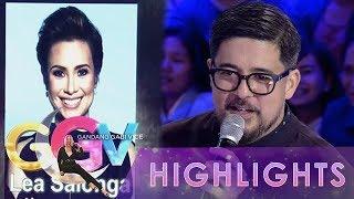 GGV: Aga Muhlach sings for Lea Salonga in Tanong Mo, Mukha Mo!