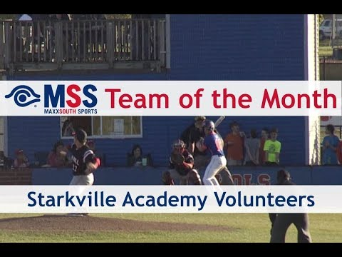 MSS Team of The Month - Starkville Academy Volunteers Baseball