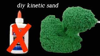 DIY Kinetic Sand Without Glue I Testing New Recipes