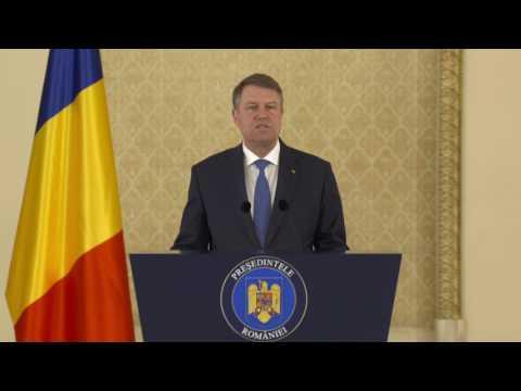 STIRIPESURSE.RO Declaratia Presedintelui Klaus Iohannis de promulgare Bugetul pe 2017