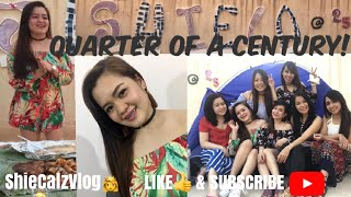 VLOG #10 | My 25th Bday Celeb | Indoor Camping & BBQ Party | Jhen@26