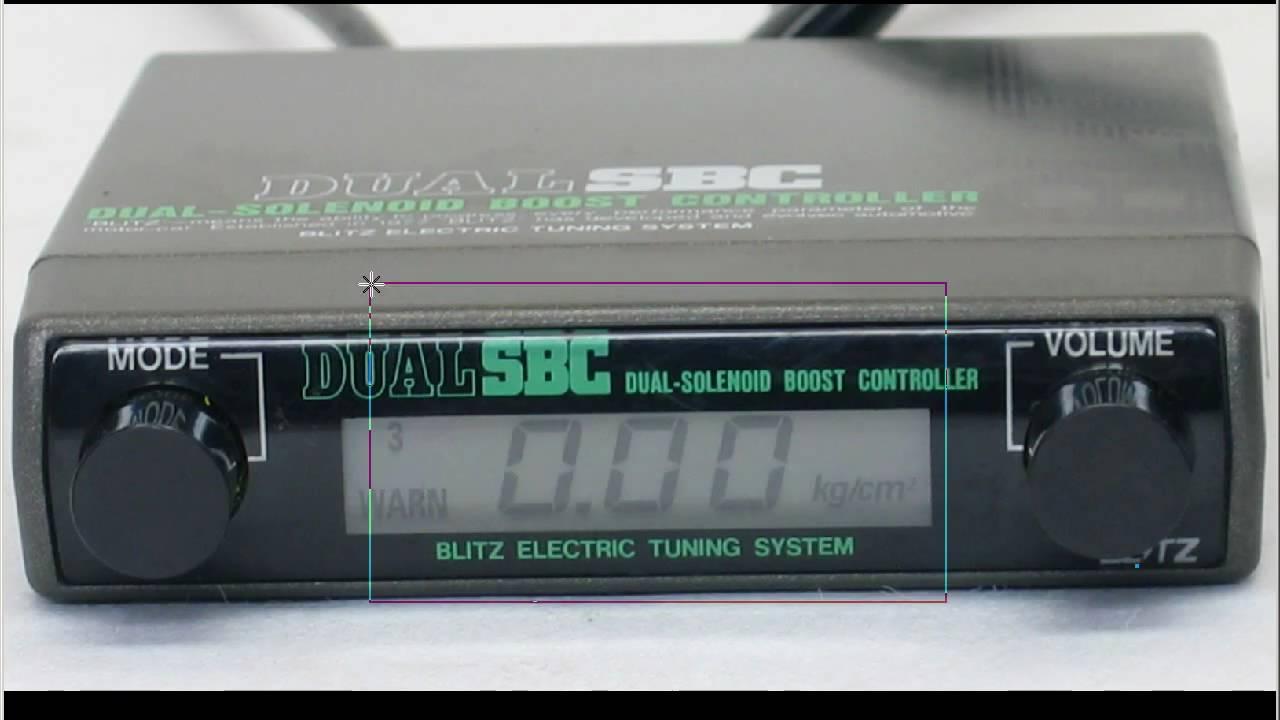 blitz dual turbo timer manual