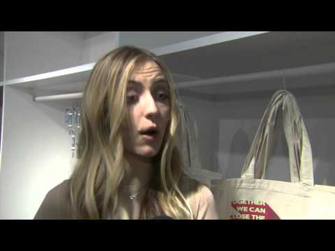 Barbara Burchfield Interview at new H&M Conscious Exclusive collection