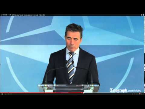 Nato: Russia's actions in Ukraine threaten peace in Europe