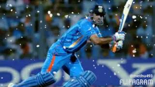 M S DHONI on Beast mode BATTINNG 2017 HD