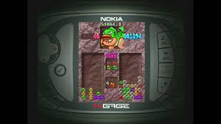 Puyo Pop (2003) - Nokia N-Gage Gameplay
