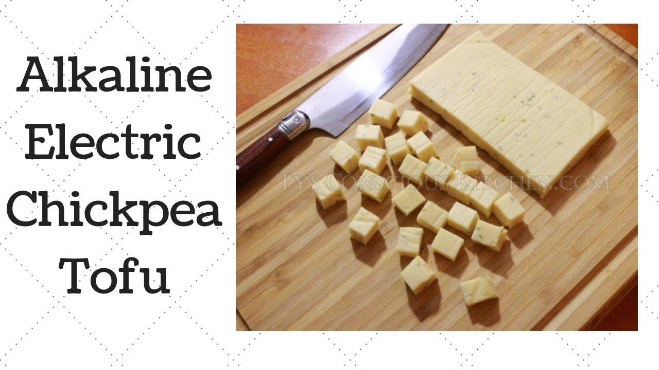 Chickpea Tofu Dr  Sebi Alkaline Electric Gluten-Free Recipe