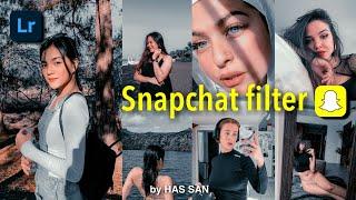 How to edit Snapchat Filter Inspired in Lightroom mobile | Free Adobe Lightroom Preset | FREE DNG screenshot 5