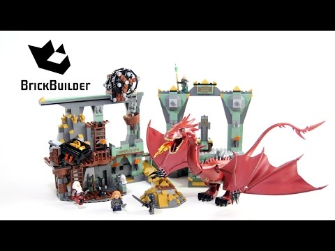 Lego The Hobbit 79018 The Lonely Mountain Lego Speed Build Youtube