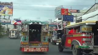 Driving in Metro Manila & Cities around in The Philippines (filipina driver)