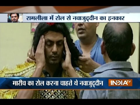 Nawazuddin Siddiqui Forced Out of Ramleela Event after Shiv Sena Protests