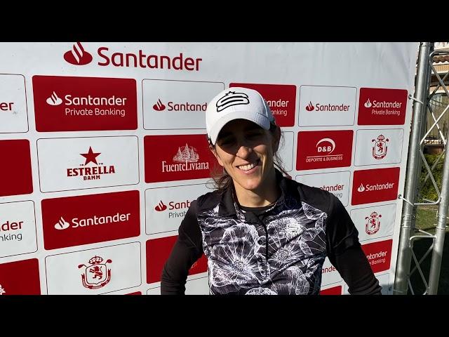 Entrevista a María Beautell tras la 1ªJornada del Santander Campeonato de España de Profesionales