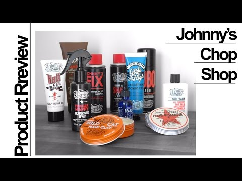 PRODUCT REVIEW - Johnny's Chop Shop Hair And Grooming Products ✖ James Welsh