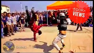 Riva riva dance🕺and stand battel in my college🇮🇳🇮🇳 ||Full HD video||