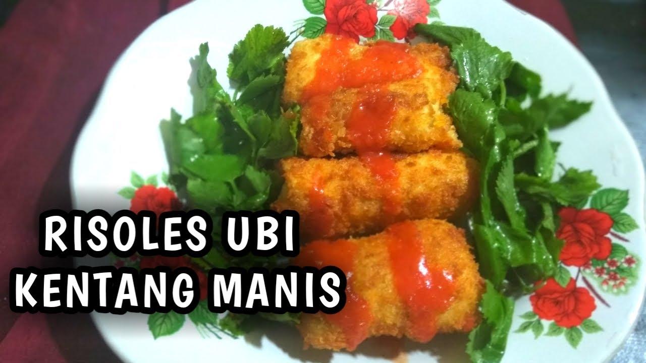 RISOLES UBI KENTANG MANIS | RESEP PALING LARIS | CEMILAN KELUARGA | MENU ARISAN | MUDAH | ENAK