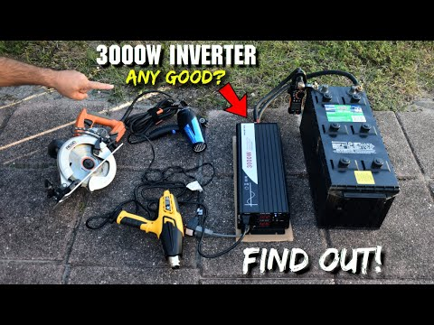 3000W/6000W Off-Grid Pure Sine Wave Inverter Any Good? Find Out!