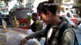 Cairo Street Food - Ful Medames Beans Cart (migration Mark)