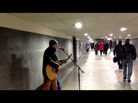 Москва подземный переход - Лишь о тебе мечтая