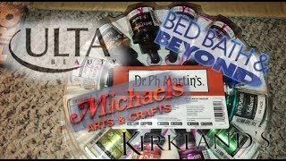 Dumpster Diving At Ulta ,Bed Bath and Beyond , Michael's,