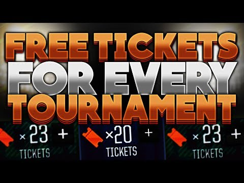 HOW TO GET FREE TICKETS IN MADDEN MOBILE 18! EASIEST H2H TOURNAMENT METHOD!
