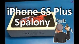 iPhone 6S Plus po samodzielnej wymianie ekranu