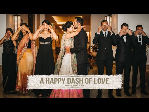 A HAPPY DASH OF LOVE - Aesha & Jasky Trailer