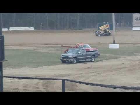 Albany Saratoga Speedway 2019 Practice Sprint Cars