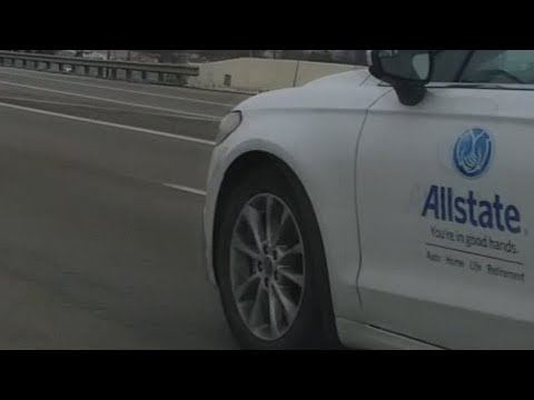 AllState Employee Nearly Causes An Accident