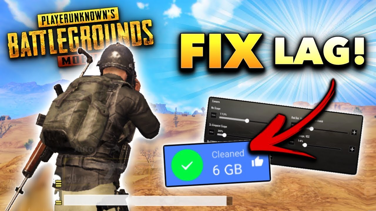 How to FIX LAG in PUBG Mobile! (MAX FPS Tips and Tricks)