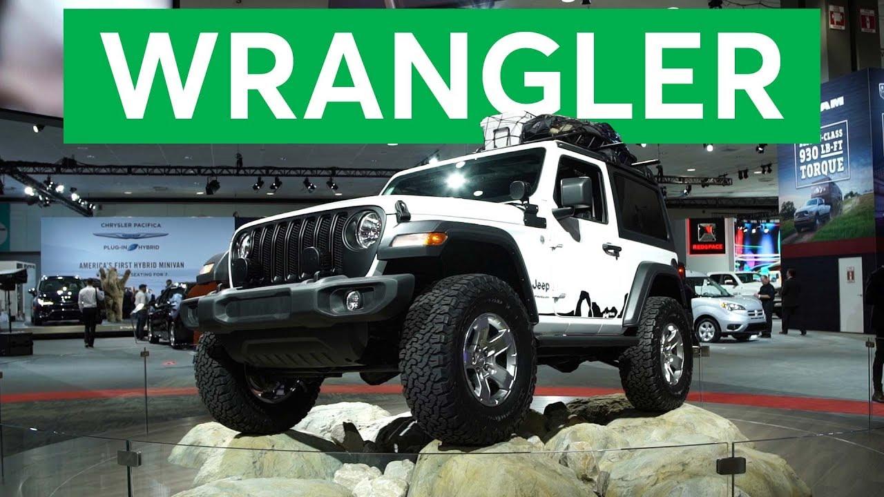2017 LA Auto Show: 2018 Jeep Wrangler | Consumer Reports