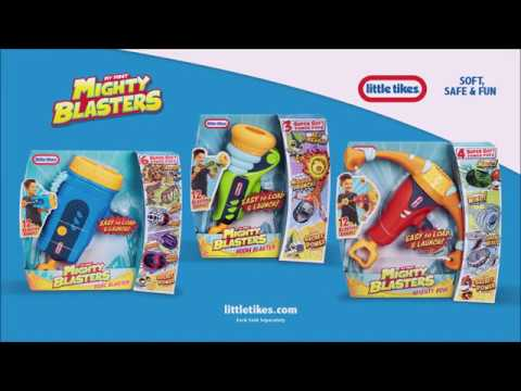 Little Tikes | My First Mighty Blasters | Commercial