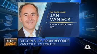 Bitcoin ETF: Van Eck CEO on filing again and the cryptocurrency's 2021 prospects
