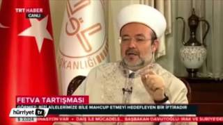 Diyanet İşleri Başkanı Mehmet Görmez'den 'Baba kız Fetvası' 2017 Video