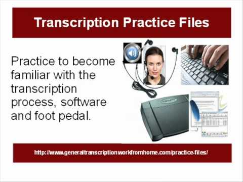 Transcription practice files - YouTube