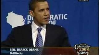 Don't Tell Me Words Don't Matter--Obama's BEST speech YET!
