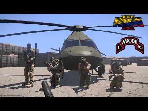 Arma 3 Colombia - Misión con uniformes colombianos - Servidor Marine Raider