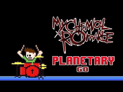 My Chemical Romance - Planetary [Go!] (Blind Drum Cover) -- The8BitDrummer