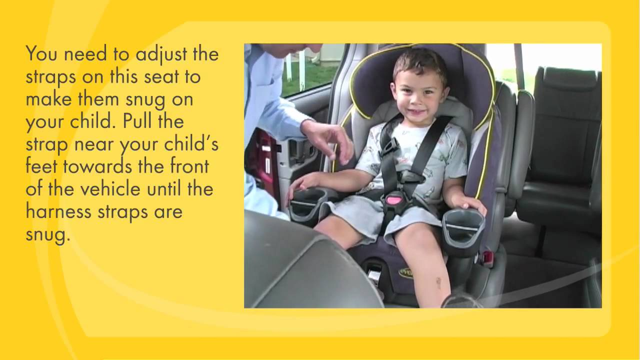 Car Seat Installation Maestro As A 5 Point Harness