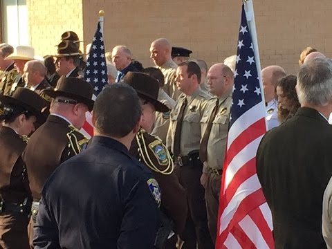 Box Elder County Sheriff: Lynn Yeates Funeral Procession